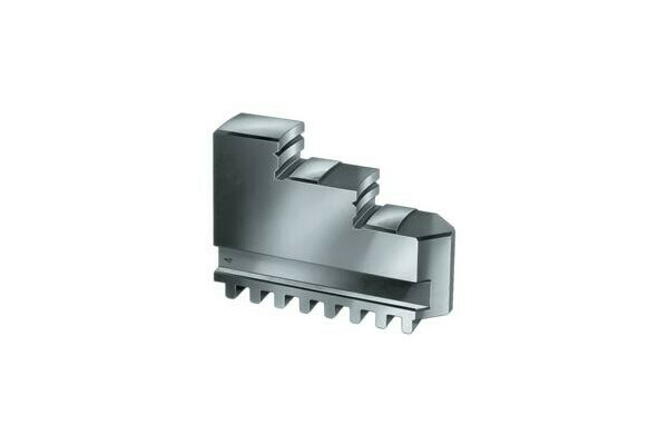 Outside jaw DB, size 500/630, 4 jaw set, DIN 6350 inward stepped jaw, hardened
