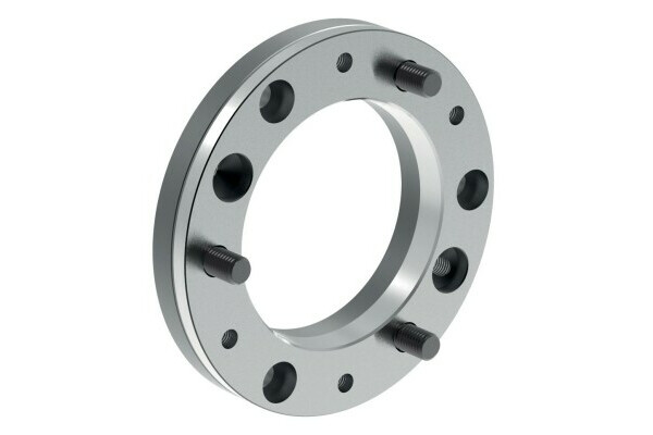 Intermediate flange, mount DIN ISO 702-1, plate size 8, diameter 210, chuck side according to DIN 6350
