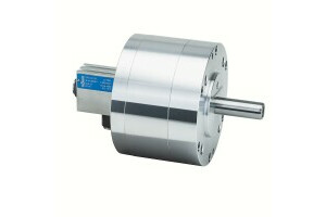 LVS air-actuating cylinders out through-hole, size 350,safety device+ stroke control  - 0