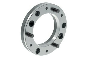 Intermediate flange, mount DIN ISO 702-1, plate size 8, diameter 210, chuck side according to DIN 6350 - 0