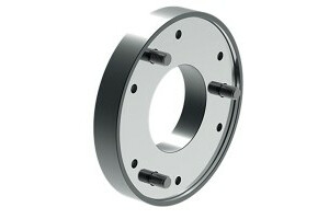 Intermediate flange, mount DIN ISO 702-4, plate size 6 (ZA170), diameter 200, chuck side according to DIN 6350 - 0